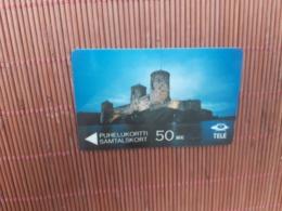 Phonecard 50 MK Finland 5 FINA Used Rare - Finlandia
