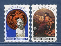 Grèce - YT N° 1459 Et 1460 - Neuf Sans Charnière - 1982 - Griechenland