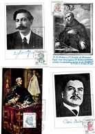 Serie Nº  1830/3 Centenario Celebridades  Tarjeta Maxima - Tarjetas Máxima