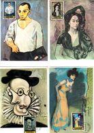 Serie Nº  2481/8 Pablo Picasso  Tarjeta Maxima - Tarjetas Máxima