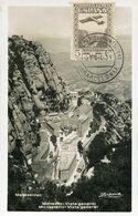 56493 Spain, Maximum 31.12.1931 Monserrat, Monastery, Kloster,  Architecture - Tarjetas Máxima