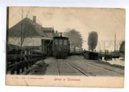 235433 Netherlands Broek In Waterland Station TRAIN Vintage PC - Nouvelle-Zélande