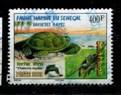 Sénégal 2003 - YT 1695 (o) - Tortue Verte - Sénégal (1960-...)