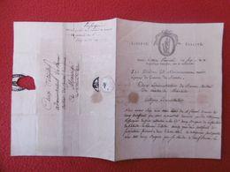 REFUGIES CORSES BATAILLE ARMEE DITALIE 57 DEMI BRIGADE D'INFANTERIE LETTRE MARQUE POSTALE NANTES 1798 - 1701-1800: Precursores XVIII