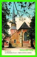 SAINT-FARGEAU (89) - L'ÉGLISE, CLOCHER ET ABSIDE - ED. MACHAVOINE - CIRCULÉE EN 1932 - - Saint Fargeau