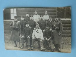 TOUL -- Carte-photo -  Section Du 156ème Régiment D'Infanterie - Régiments