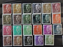 07 - 20 - Espagne - N° 854 à 869 **  - MNH - Série Complète - 1931-Heute: 2. Rep. - ... Juan Carlos I