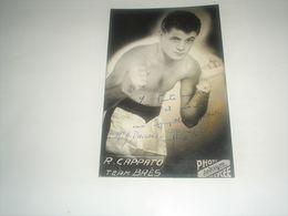 Photo Boxe  Signé Par  R. CAPPATO , Authographe Dédicasse Signature - Autres