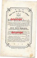 Doodsprentje Anna Van Cauwenbergh Tielt Winge 1804 St Martin En Overleden Te Dendermonde 1861 Van Oolen - Andachtsbilder