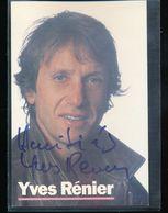Yves Renier - Autographs