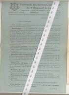 Document Anciens Combattants   1944 - Belgio
