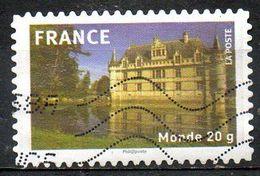 FRANCE. Timbre Adhésif De 2009 Oblitéré. Château D'Azay-le-Rideau. - Schlösser U. Burgen