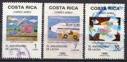 Costa Rica Used Set - Costa Rica