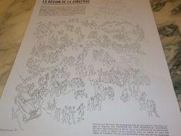 ANCIENNE PUBLICITE VENEZ DONC EN  EN SUISSE REGION JUNGFRAU 1930 - Pubblicitari