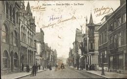 Cp Roulers Roeselare Westflandern, Rue De L'Est, La Poste - Bélgica