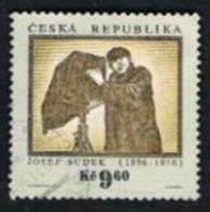 REP. CECA (CZECH REPUBLIC) - SG 123 - 1996 J. SUDEK, PHOTOGRAPHER  -   USED - República Checa