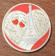 75 PARIS CHAMP DE MARS TOUR EIFFEL COULEURS MÉDAILLE MONNAIE DE PARIS 2018 JETON MEDALS TOKENS COINS - 2018