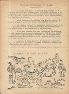 GUERRE 39/45 . LE REVEIL .RESISTANCE A DJIBOUTI . SUPLEMENT SYNDICAL - Historische Dokumente