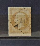 07 - 20 - France N°13 Oblitéré PC 417 - Bletterens - Jura - 1853-1860 Napoléon III