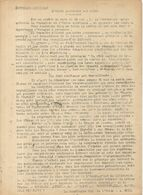 GUERRE 39/45 . LE REVEIL .RESISTANCE A DJIBOUTI . SUPLEMENT SYNDICAL.DEC 1944 - Historische Dokumente