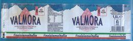 VALMORA ACQUA UFFICIALE GIRO D'ITALIA 2020 1,5 L FRIZZANTE ETICHETTA PLASTICA  ITALY - Otros