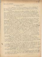 GUERRE 39/45 . LE REVEIL .RESISTANCE A DJIBOUTI . SUPLEMENT SYNDICAL. - Historische Dokumente