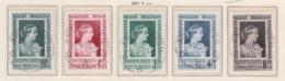 BELGIUM USED COB 863/67 REINE ELISABETH - Bélgica