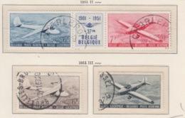 BELGIUM USED COB PA 26/27 & PA 28/29 AEROCLUB ROYAL DE BELGIQUE - Aéreo