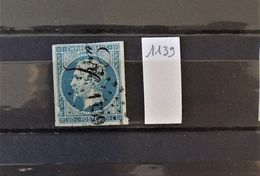 07 - 20 - France N°14 Oblitéré PC 1139 - Draguignan - 1853-1860 Napoléon III