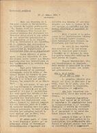 GUERRE 39/45 . LE REVEIL .RESISTANCE A DJIBOUTI . SUPLEMENT SYNDICAL.29/04/1944 - Historische Dokumente