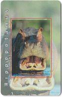 S. Africa - MTN - African Animals - Hippopotamus, R15, Axalto 02, 2004, 100.000ex, Used - Afrique Du Sud