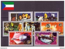 Guinée Equatoriale 1972 - MNH ** - Espace - Michel Nr. 18-24 Série Complète (geq169) - Guinea Equatoriale