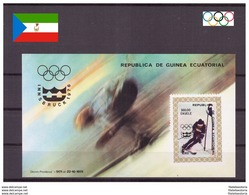 Guinée Equatoriale 1976- MNH ** - Jeux Olympiques - Michel Nr. Bloc 216 (OLI159) - Olympische Spiele