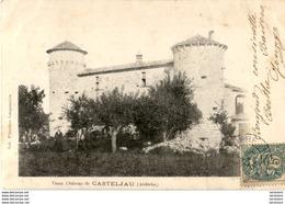 D07  CASTELJAU  Vieux- Château De Casteljau   ..... - Autres Communes