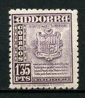 ANDORRE ESP 1948 N° 50 ** Neuf MNH  TTB C 15 €  Armoiries Coats Of Arms - Unused Stamps