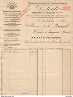 ETABLISSEMENTS INDUSTRIELS D.SOULÉ A BAGNERES DE BIGORRE      .......... FACTURE DE 1923 - Electricité & Gaz