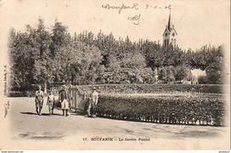 ALGERIE  BOUFARIK  Le Jardin Public  ...... ( Ref FA882 ) - Otras Ciudades