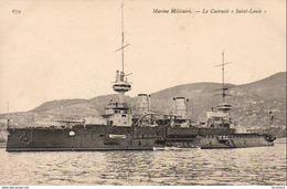 """Marine Militaire Française- Le Cuirassé """" Saint- Louis """"  ... - Guerre"""
