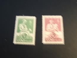 K33060 -  Set MNH Finland 1946 - SC. B78-79 - Prevention Of TBC - Medicine