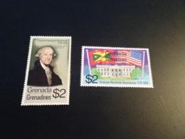 K33096-  Stamps MNH Grenada Grenadines 1976 - American Revolution Bicentennial - Us Independence