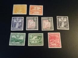 K33106- Stamps Mint Hinged British Guyana 1934-1952 - Guyana Britannica (...-1966)