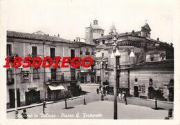 RIONERO IN VULTURE - PIAZZA G. FORTUNATO F/GRANDE VIAGGIATA  ANIMATA - Potenza