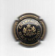 CAPSULE  MATHIEU Serge    Ref 7 !!! - Champagne