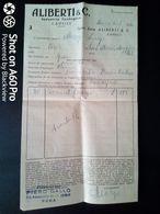 BOLLA COMMERCIALE - INDUSTRIA ENOLOGICA ALIBERTI, CANELLI (ASTI) - 1956 - Italy