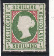 HELIGOLAND 1867 - N° 1a (1 A) Type II - Neuf Sans Gomme (réimpression ???) (2 Scans) (Lot 2) - Heligoland (1867-1890)