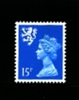 GREAT BRITAIN - 1989  SCOTLAND  15 P.  MINT NH   SG  S56 - Regionali