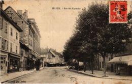 CPA BELLEY - Rue Des Capucins (89058) - Belley