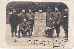 CpaGUERRE 1914 1915 LES POILUS DE LA 27 SOUVENIR - Régiments