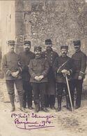 Cpa 1 REGIMENT ETRANGER BAYONNE 1914 - Régiments