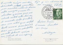 3534   Postal Ceuta  1966, Expo. Filatelica, - 1931-Heute: 2. Rep. - ... Juan Carlos I